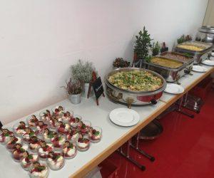 Hochwertiges Catering